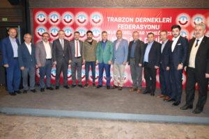 TDF'NİN İFTARINA YOĞUN KATILIM