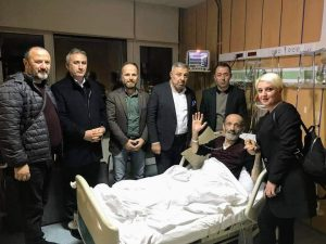 TRABZON DERNEKLER FEDERASYONU'NDAN ANLAMLI ZİYARET