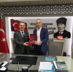 Zeytinburnu Trabzonlular Derneği Şalpazarı Belediyemizi ziyaret etti