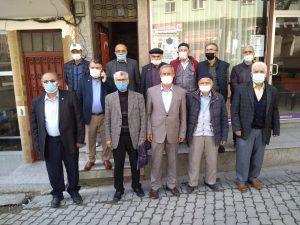 Saadet Partisi Şalpazarı ilçe Başkanı Ahmet Kıran Güven Tazeledi