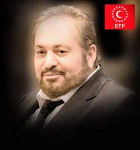 BTP GENEL BAŞKANI HAYDAR BAŞ COVİD-19'DAN HAYATINI KAYBETTİ.